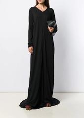 Rick Owens long-sleeve flared dress