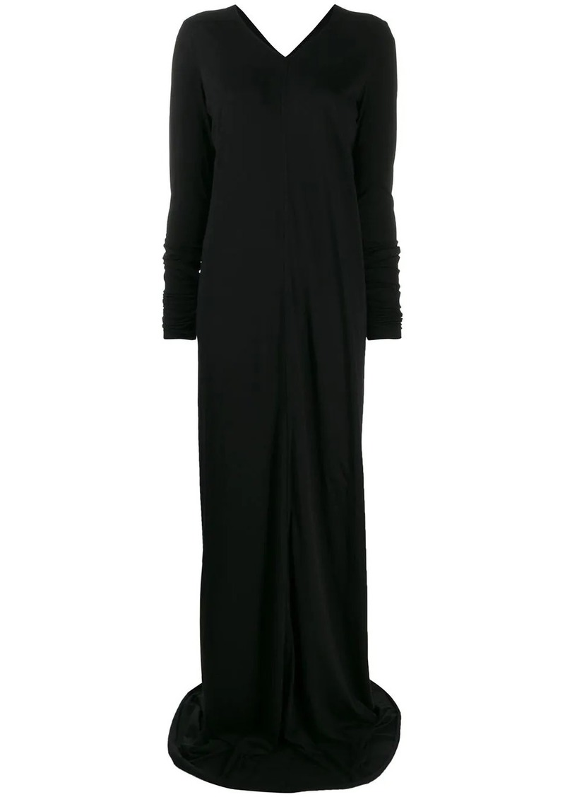 Rick Owens long-sleeve flared dress