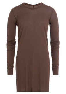 Rick Owens Long Sleeved Top with Silk