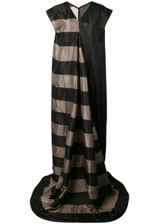 Rick Owens long striped gown