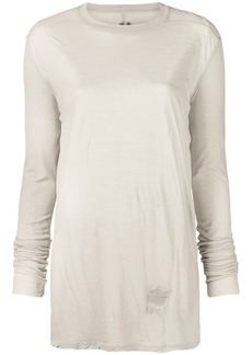 Rick Owens longline knitted top