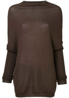 Rick Owens loose fitted sweater