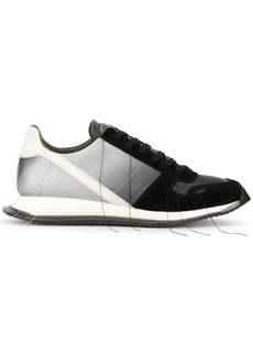Rick Owens loose thread low top sneakers