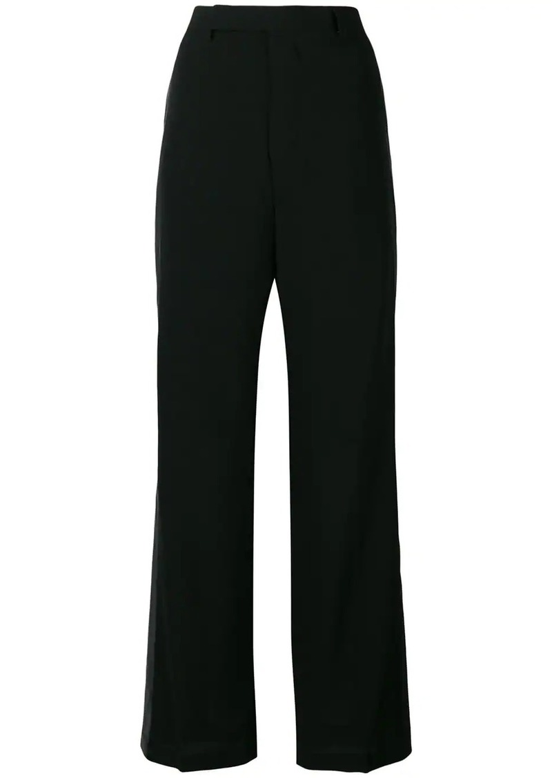 Rick Owens loose tuxedo trousers