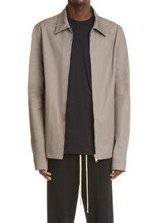 Men's Rick Owens Brad Stretch Cotton Jacket