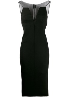 Rick Owens mesh-panelled dress