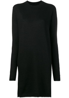 Rick Owens mid-length mock neck sweater