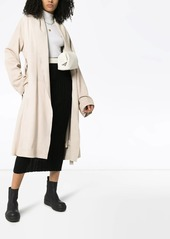 Rick Owens Mountain belted coat