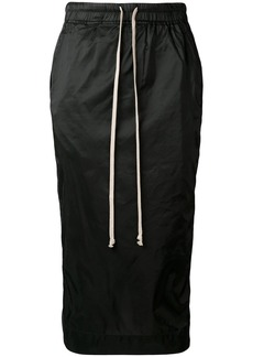 Rick Owens nylon pencil skirt