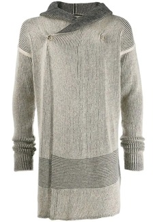 Rick Owens off centre buttoned cardigan