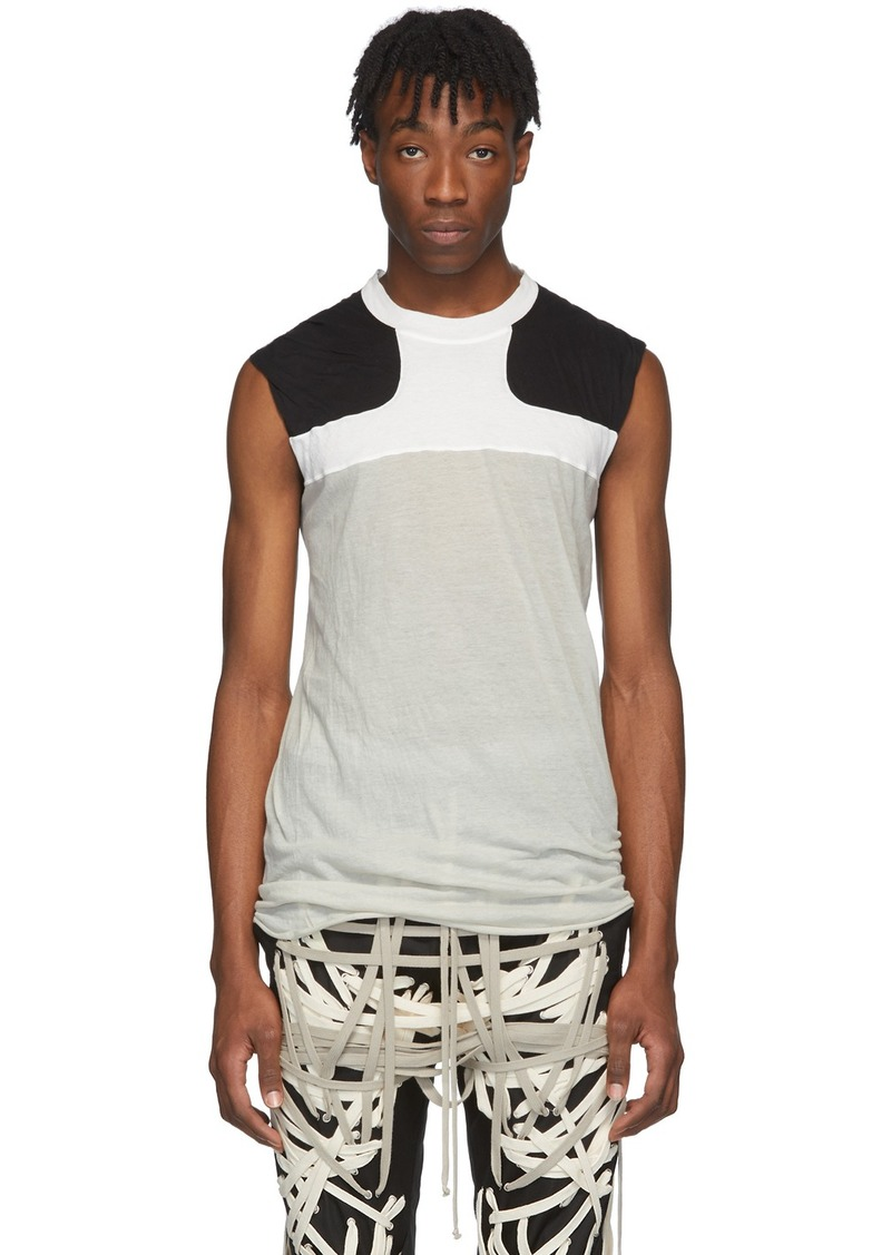 Rick Owens Off-White & Black Release Combo Lupetto Tank Top