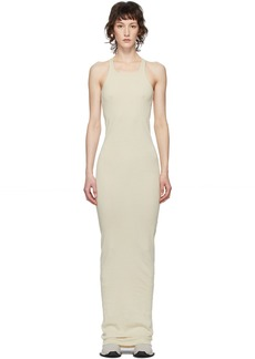 Rick Owens Off-White Abito Gown