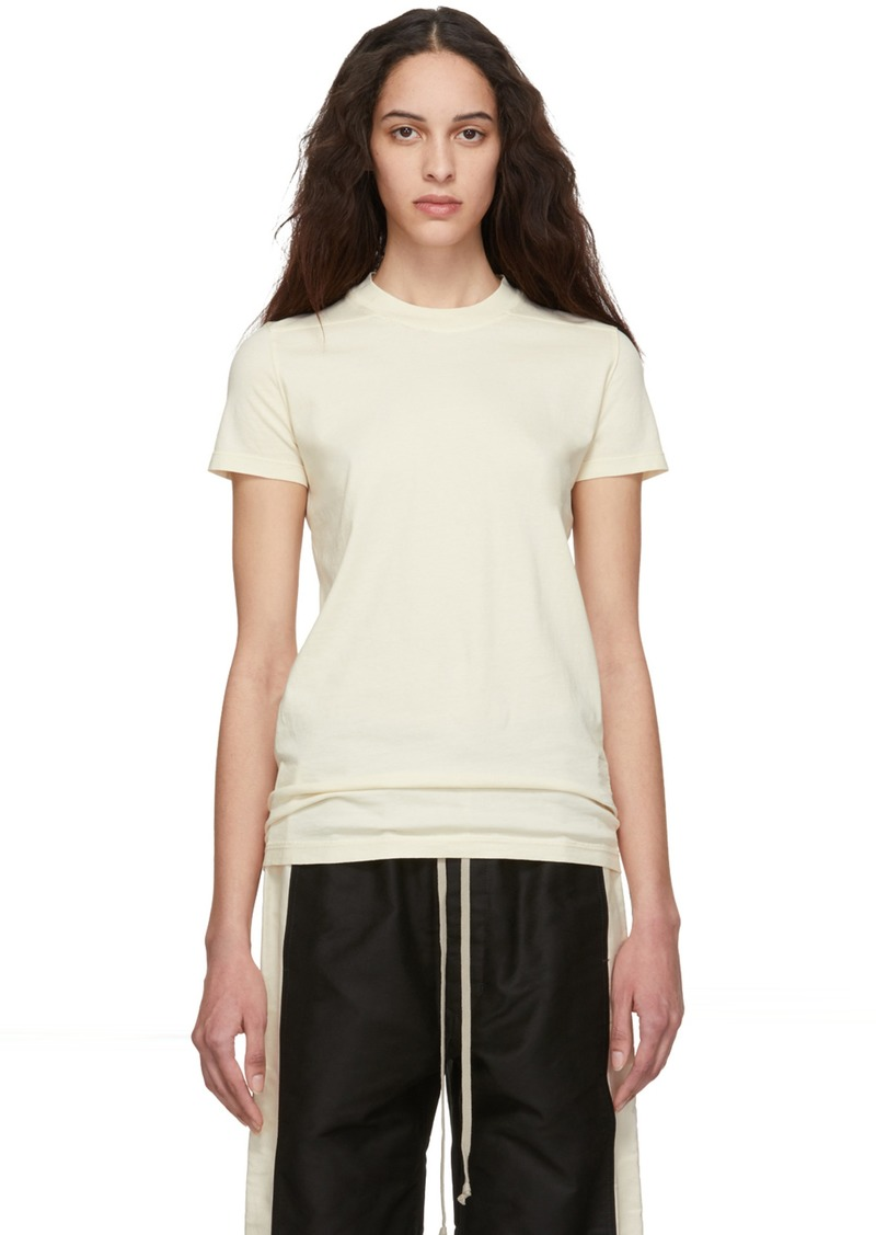 Rick Owens Off-White Crew Level T-Shirt