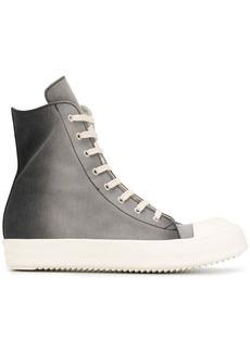 Rick Owens ombré print sneakers
