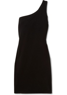 Rick Owens One-shoulder Cotton-jersey Top