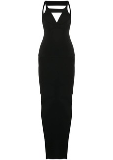 Rick Owens open back knitted dress