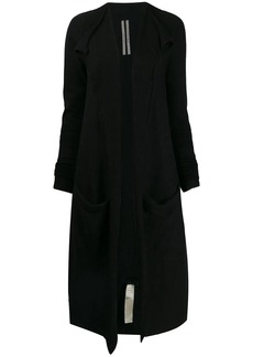 Rick Owens open front cardigan coat