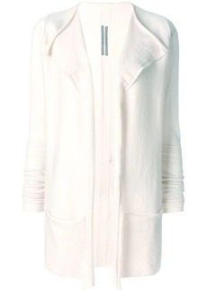 Rick Owens open relaxed cardigan