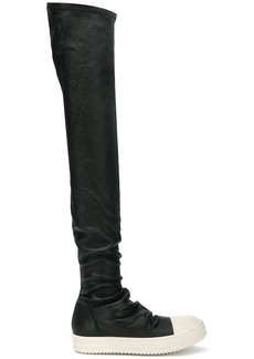 Rick Owens over-the-knee boots