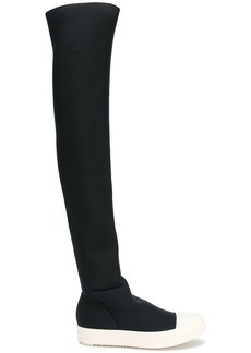Rick Owens over the knee trainer boots