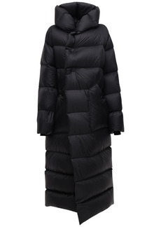 Rick Owens Oversize Nylon Down Coat