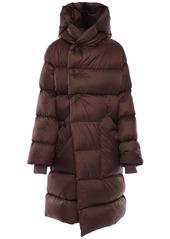 Rick Owens Oversize Nylon Puff Down Coat