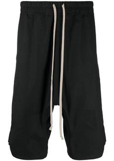 Rick Owens oversized drop-crotch shorts