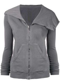 Rick Owens oversized hood zipped jacket