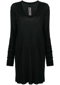 Rick Owens oversized long-sleeve sweatshirt