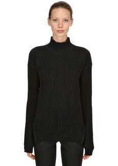 Rick Owens Oversized Rib Knit Sweater