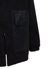 Rick Owens Padded Cotton Parka Coat