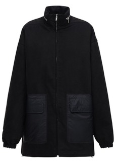 Rick Owens Padded Cotton Parka Coat