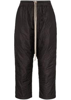Rick Owens padded drop crotch trousers
