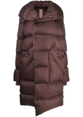 Rick Owens padded hooded coat