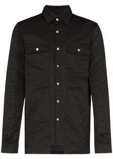 Rick Owens padded shirt jacket
