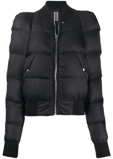 Rick Owens padded shoulders jacket