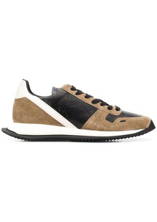Rick Owens panelled low-top sneakers