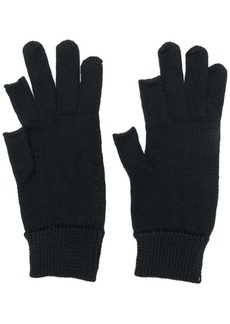 Rick Owens partially fingerless gloves