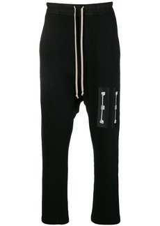 Rick Owens patch drawstring trousers