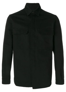 Rick Owens patch pocket over shirt