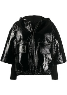 Rick Owens patch pockets cropped jacket