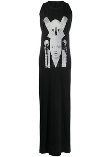 Rick Owens photographic-print sleeveless dress