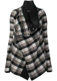 Rick Owens plaid jacket