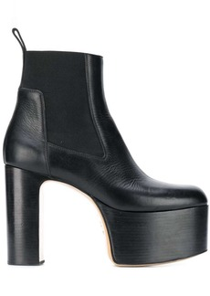 Rick Owens platform Kiss boots