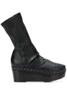 Rick Owens platform sock boots