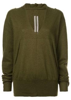 Rick Owens plunge neck sweater
