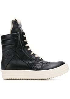 Rick Owens quilted hi-top sneakers