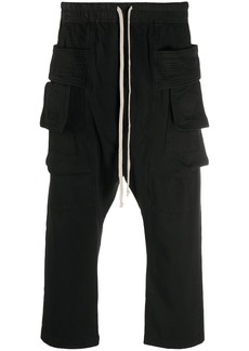 Rick Owens ribbed cotton track pants