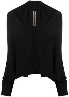 Rick Owens ribbed open-front cardigan