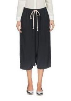 RICK OWENS - Cropped pants & culottes
